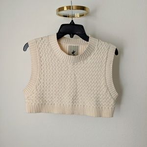 One Teaspoon Crop Top, Size Small